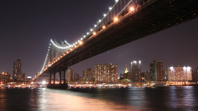 Manhattan Bridge Time Lapse video