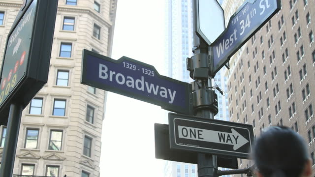 Manhattan Broadway and Thirty Fourth Street HD video
