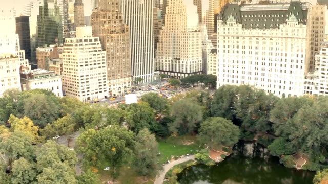 Manhattan buildings from above video