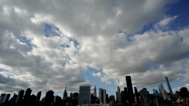 Manhattan Clouds Time Lapse video