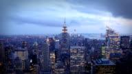 De Manhattan la nuit, New York - Vidéo
