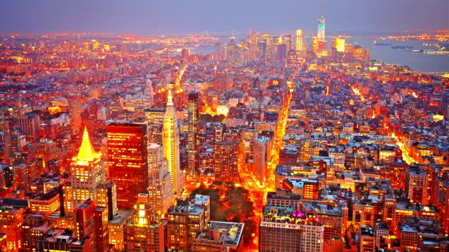 Manhattan downtown video