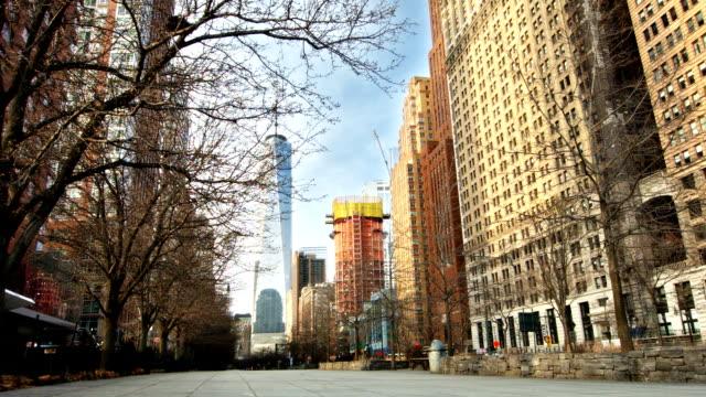 Manhattan. Freedom tower video