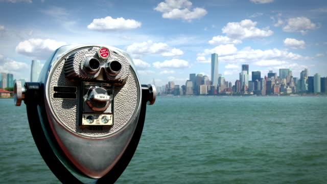 Manhattan from Liberty Island, New York video