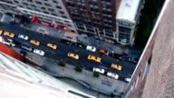 Manhattan High Angle View video