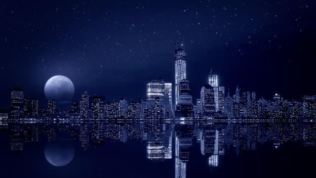 Manhattan Night, New York city video