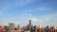 Manhattan Skyline Morning Time Lapse video