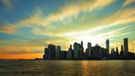 Manhattan Skyline NYC video