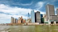 Manhattan skyline video