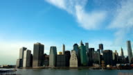 Manhattan Skyline with Unfinished Freedom Tower video