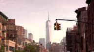 Manhattan Stoplight in the West Village New York City video