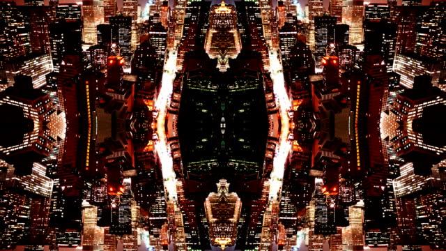 Manhattan View Abstract video