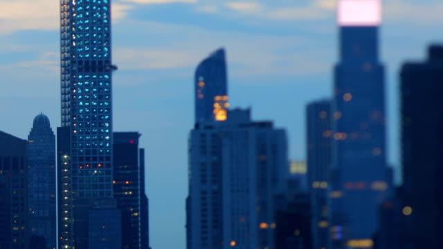 Manhattan views at dawn video