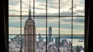 Manhattan Window View in New York City video