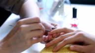 Manicurist clear cuticle professional nippers video