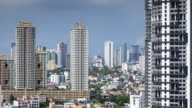 Manila Apartment Buildings and Houses - Time Lapse video