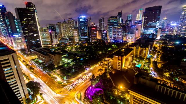 Manila, Philippines - Makati City Timelapse video