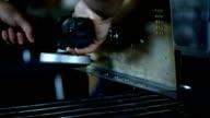 Manual sharpening video