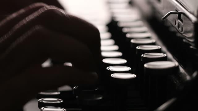 Manual Typewriter video