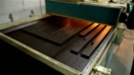 Manufacture of doors. video