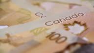 Many Canadian 100 bills, Polymer Plastic Type video