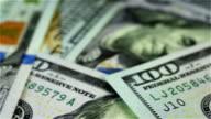 Many Dollar Bills. video
