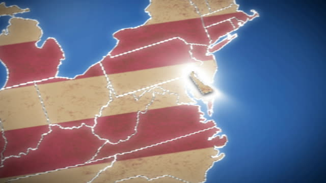 Us State Border HD Video K BRoll IStock - 4k image of us map
