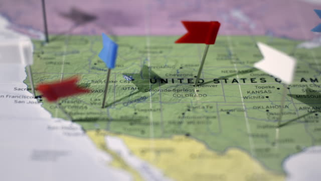 USA Map video