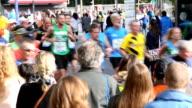 Marathon running, Real Time + Audio video