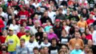 HD: Marathon running video
