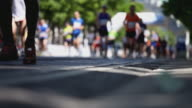 marathon shallow focus video