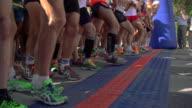Marathon Start video