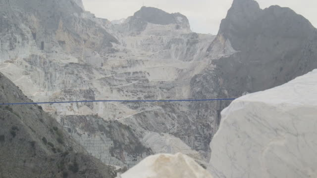 Marble Quarry in Carrara, Italy video