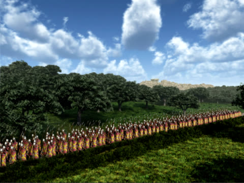 Marching Roman Soldiers video