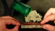 Marijuana blunt video
