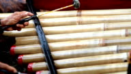 Marimba and mallets in bali video
