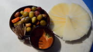 Marinated Olives And Feta Cheese video
