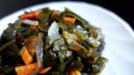 Marine cabbage salad video