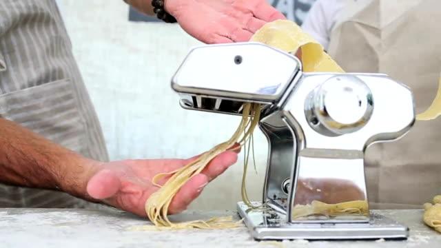 Market Stall Fresh Homemade Pasta video
