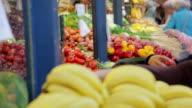 Market stall video