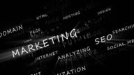 Marketing Words HD Video video