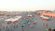 Marrakech timelapse HD video