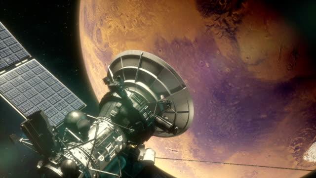 Mars Satellite in Orbit video