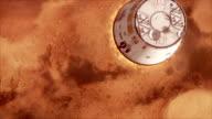 Mars Spaceship Landing video