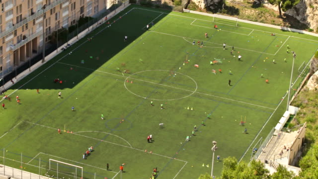 Marseille Soccer Field Zoom video