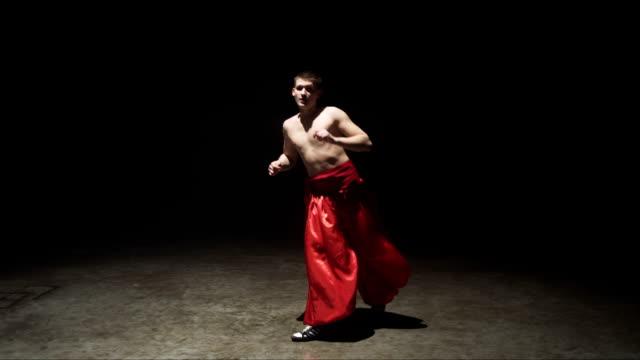 Martial Arts Dance Cossacks Choreography Slow Motion video