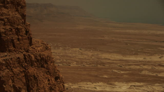 Masada near the Dead Sea video