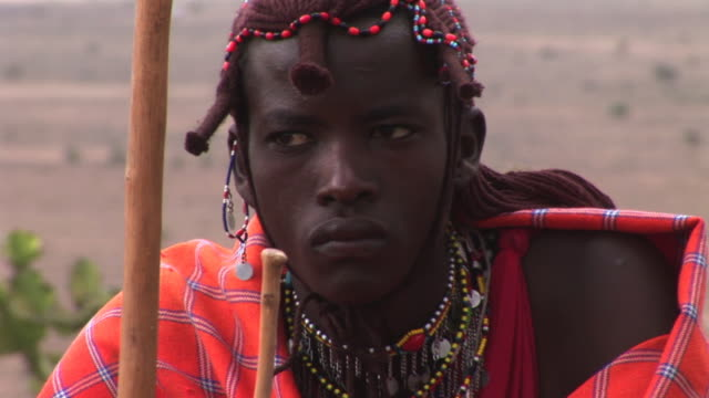 Masai Warrior video