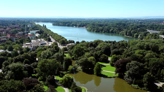 Maschsee in Hannover video