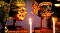 Mask in Thai classical style video